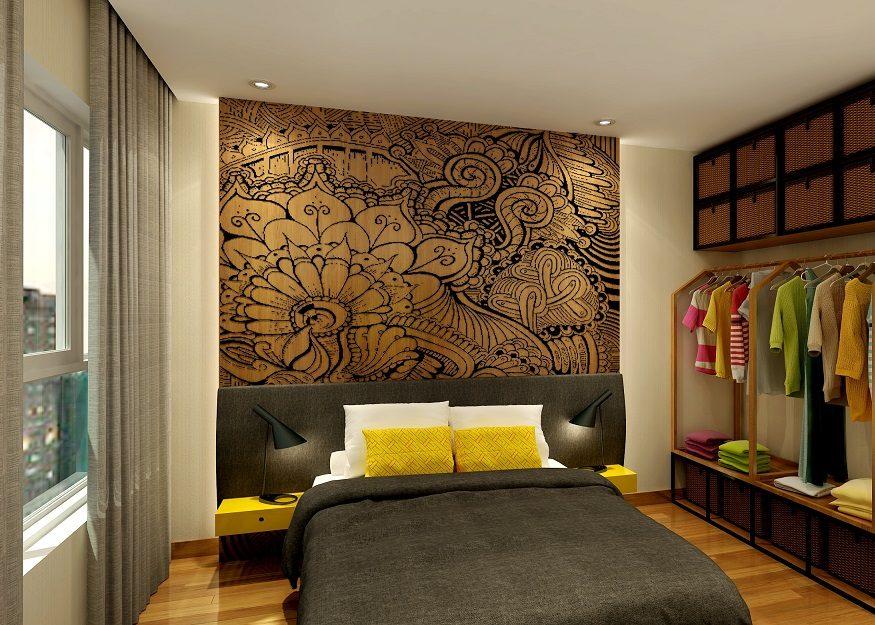 thiết kế căn hộ the sun avenue