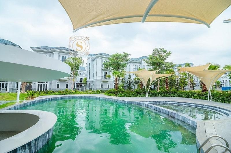 Bán biệt thự 2MT Sol Villas tuyệt đẹp. 120m2, 3 tầng mái ngói. Giá 11.5 tỷ